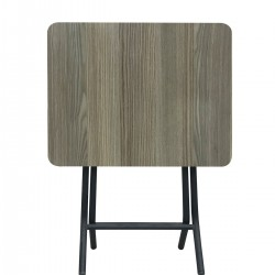Berrado 36X45 Küçük Masa Metal Ayaklı Katlanabilir 4 Adet