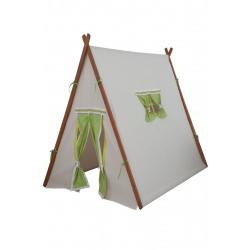 Berrado Organik Ahşap İskeletli Çocuk Oyun Evi Çadırı